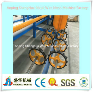 Full Automatic Chain Link Fence Machine (diamond mesh machine) pictures & photos