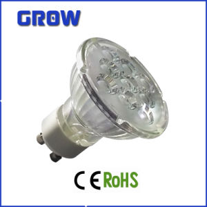 3W/5W/7W GU10 Glass LED Spotlight (GR650) pictures & photos