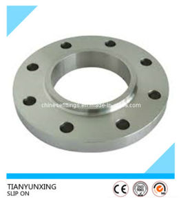 ASTM Forged RF Ss316 Slip on Stainless Steel Flange pictures & photos