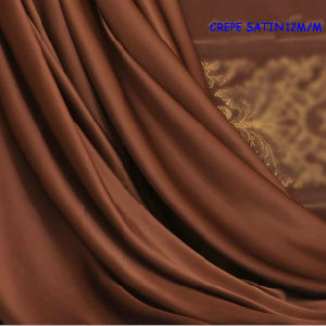 12mm Silk Crepe Satin Fabric (Silk Charmeuse) pictures & photos