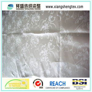 100% Polyester Jacquard Satin Funeral Fabric pictures & photos