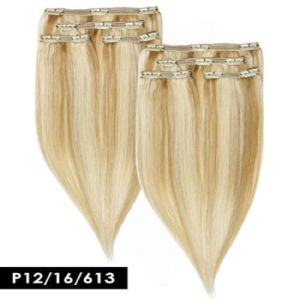 Wholesale Cheap Factory Price Piano Colors Clip Human Hair Extension