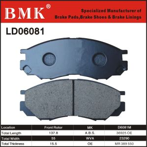 Adanced Quality Brake Pad (D6081M) pictures & photos