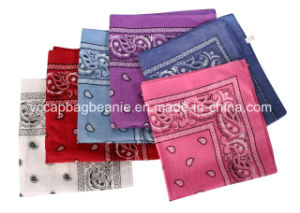 100%Cotton Promotional Cheap Buff Cotton Bandana pictures & photos