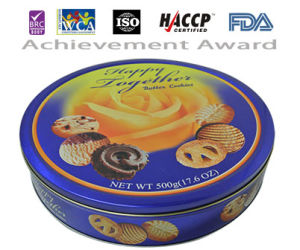 U. S FDA Approved 500g Happy Together Butter Cookie