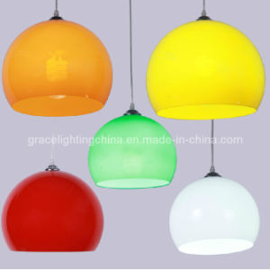 Colorful Acrylic Ball Decoration Pendant Lamp (GD-1027-1) pictures & photos