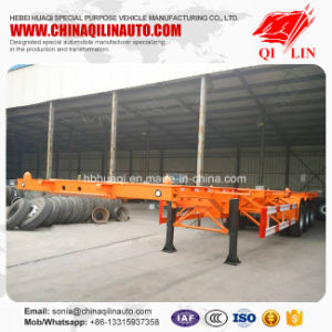 Skeleton Semi Trailer with High Tensile Carbon Steel Material pictures & photos