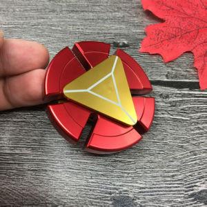 Iron Man Fidget Spinner EDC Fingertip Toys with Retail Box pictures & photos