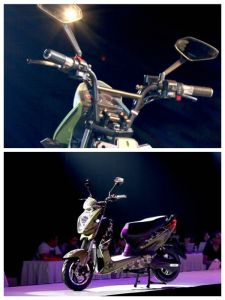 60V800W Patent Design Electric Motorcycle with Bosch Motor pictures & photos