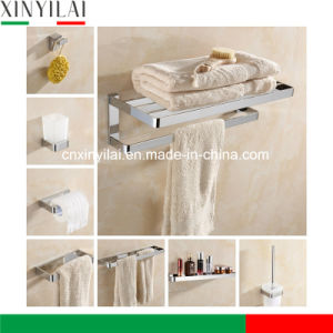 Sanitarywares Solid Brass Polish Chrome Accessories Bathroom Set pictures & photos