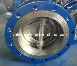 ANSI/ASTM Carbon Steel Gear Flanged Butterfly Valve 300lb pictures & photos