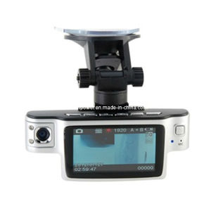 720p Dual-Camera 2.7 Inch TFT Screen Car Drive Recorder with Night Vision pictures & photos