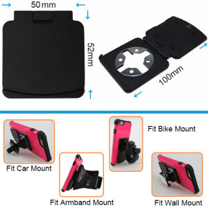 Universal Phone Stand Label Cross Fast Lock Holder with Mobile Phone Holder pictures & photos