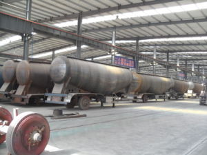 Popular 3 Axles Bulk Cement Semi Trailer From Supplier pictures & photos
