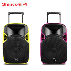 2017 New Product Projection Speaker with Trolley FM Radio Bluetooth USB/SD pictures & photos