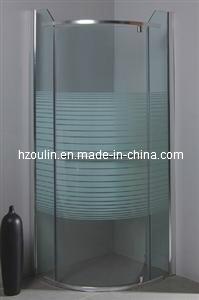 Framless Pivot Door Shower Enclosure (EG-103) pictures & photos