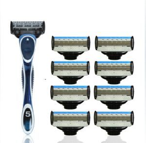 Top Quality Sharpest 5 Blades Razor with Trimmer pictures & photos