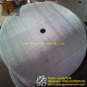 Large Diameter Stainless Steel Wire Mesh Disc pictures & photos