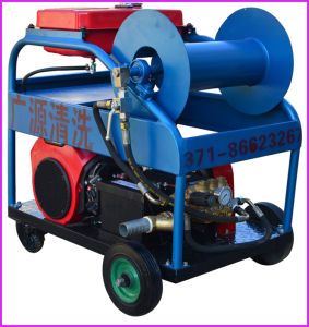 High Pressure Sewer Drain Cleaning Machine Gasoline Engine pictures & photos
