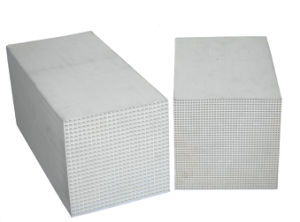 Honeycomb Ceramic Heat Accumulation Substrate pictures & photos
