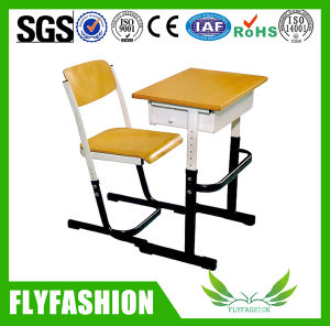 High Quality Moulded Board Adjustable Student Desk and Chair pictures & photos