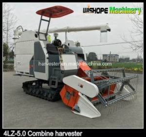 Agricultural Machinery 73kw Rice Combine Harvester 4lz-5.0z Similar Kubota pictures & photos