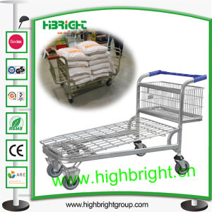 Heavy Duty Warehouse Transport Trolley Cart for Cash & Carry Store pictures & photos