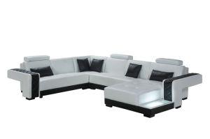 Sweeden Design U Shaped Leather Sofa pictures & photos