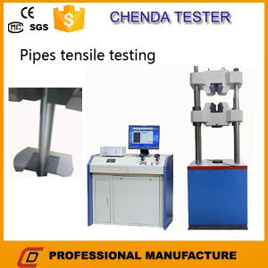Waw-300b Compuer Control Hydraulic Universal Testing Machine +Tensile Testing Machine +Compression Testing Machine pictures & photos