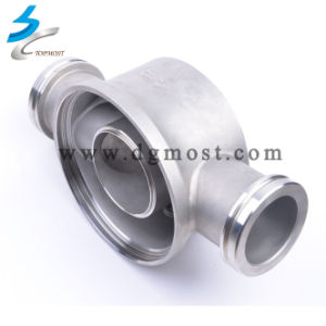 Customized High Quality Bathroom Kitchen CNC Stainless Steel Valve Parts pictures & photos