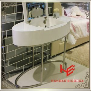 Side Table (RS161701) Modern Furniture Dressing Table Stainless Steel Furniture Home Furniture Hotel Furniture Table Coffee Table Console Table Tea Table
