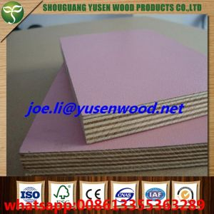 Furniture Grade Hardwood Core Wood Grain 18mm Melamine Faced Plywood pictures & photos