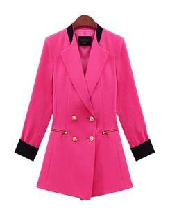 Trendy Fat Women New Design China Fashion Coat (S3010015)