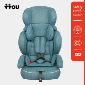 Car Child Seat with Linen Fabric pictures & photos