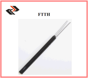 Self-Supporting Butterfly Lead-in Fiber Optic Cable FTTH Indoor Cable pictures & photos