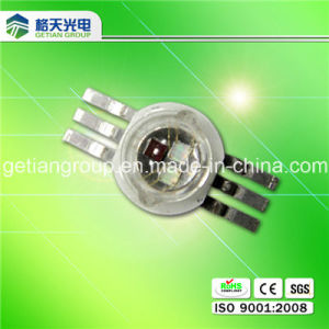 High Quality New Design 6 Pin 3W RGB High Power LED pictures & photos