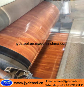 Wooden Design PPGI Steel Coil for Shutter Doors pictures & photos