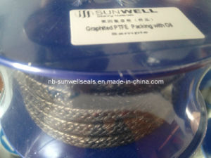 100% Pure Graphite PTFE Packing with Oil (SUNWELL) pictures & photos