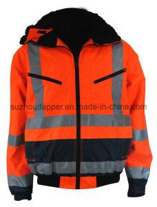 High Visibility Contrast Pilot Jacket (EUR019)