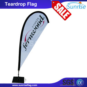 No MOQ Full Color Printing Outdoor Event Beach Teardrop Flag pictures & photos