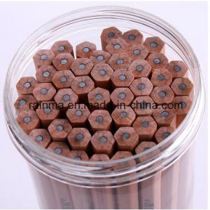 2017 New Natural Wooden Hb Pencil with Non Broken Lead pictures & photos