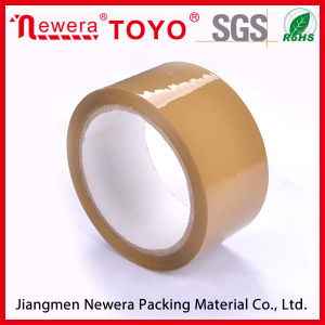 48mm Brown/Tan Adhesive BOPP Packaging Tape pictures & photos