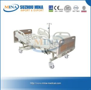 Two Crank Hospital Manual Bed (MINA-MB105-A)