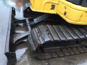 Used Komatsu MIDI Excavators PC55mr-3 with Rubber Track Good Condition pictures & photos