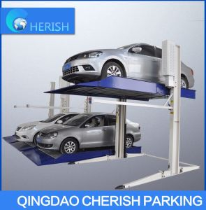 Easy Garage Home Two Post Auto Vehicle Car Parking Lift pictures & photos