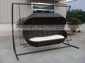 Mtc-450 Rattan Wicker Hammock, Hanging Chair, Outdoor Garden Swings Furniture pictures & photos