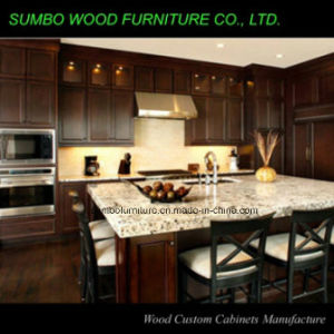Traditional Solid Wood Kitchen Cabinet (SBK-005)