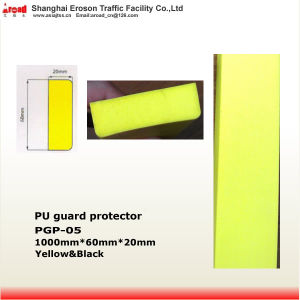 Easy Installation Yellow/ Black PU Corner Protector Damper pictures & photos