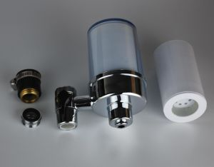 Tap Faucet Water Purifiers with Silver Carrying Carbon Filters to Wippe off Chemicals and Improve Tastes pictures & photos