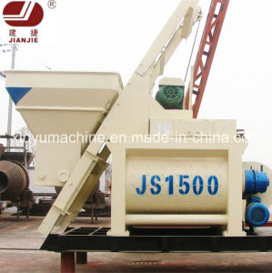 Volumetric Mixng Machine Electric Concrete Mixer Js1500 pictures & photos